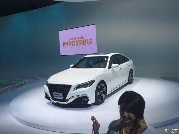 2017东京车展:丰田全新皇冠概念车发布