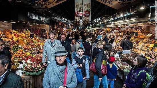 一个城市的胃口好不好 要看它的食材市场