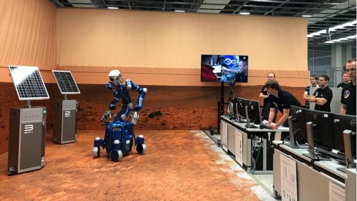 国际太空站实验:机器人深入火星环境