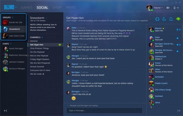 暴雪战网桌面客户端迎重大更新 新增社交标签