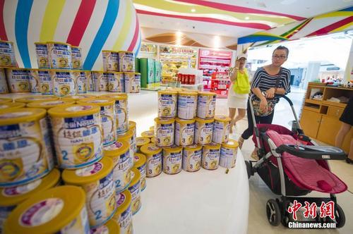 美媒:中国婴儿奶粉市场今年发展迅猛 跟猴年有关?