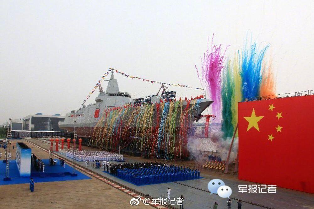 专家:中国万吨级驱逐舰性能追平世界一流水平