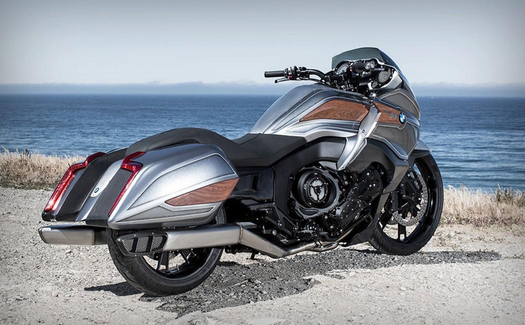 前卫机身设计 宝马Concept 101概念摩托车图赏