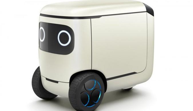 本田推出一款超可爱全自动多功能移动机器人
