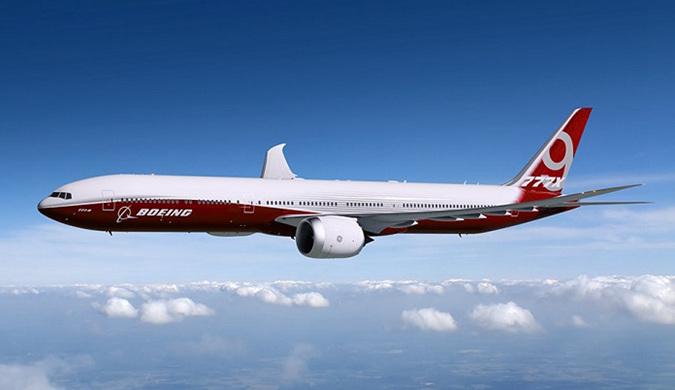 波音开始生产长续航宽体客机777x:2019年投产