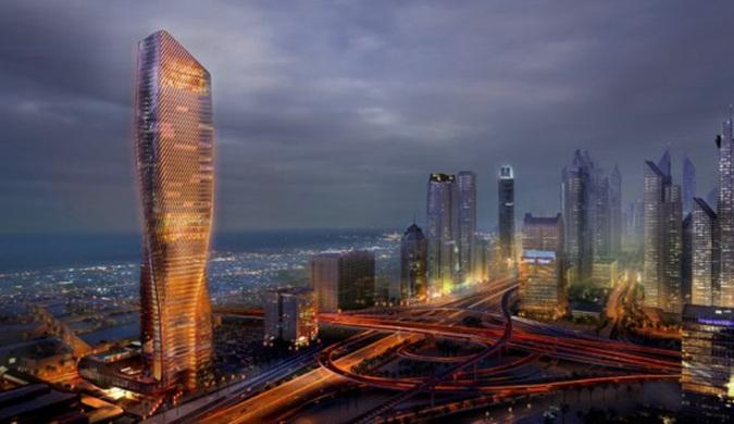 拥有陶瓷立面的摩天大楼将于2020年在迪拜建成