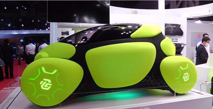 微型概念车采用外部安全气囊 亮相东京车展