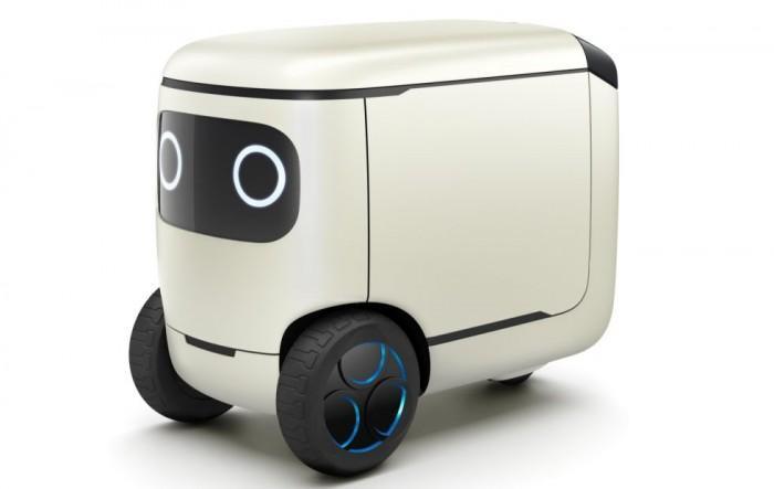 本田版瓦力?本田推出一款全自动可移动机器人