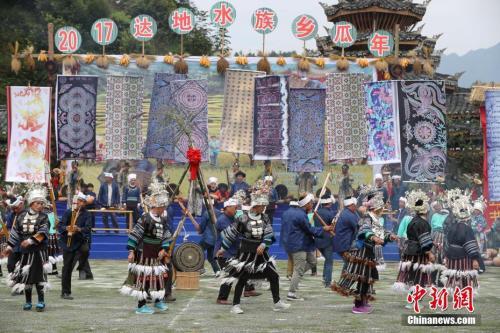 中国最奇特民族节:南瓜上传承民族文化