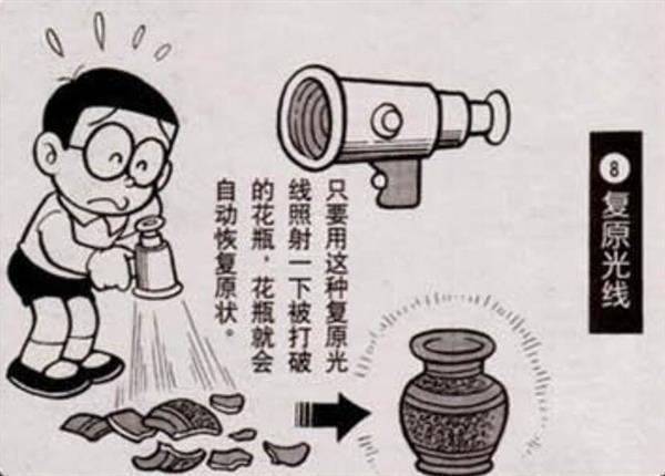 哆啦A梦里面的脑洞科技产品 你一定没见到过