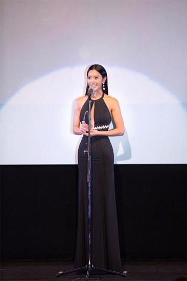 Clara克拉拉亮相东京电影节 获最受欢迎女演员奖