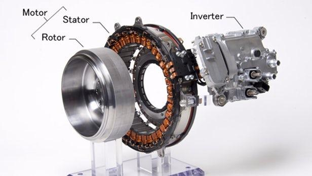 三菱电机将混合动力系统放在曲轴上