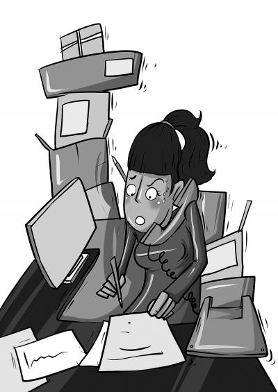 压力对女性之害或如垃圾食品