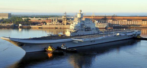 大国争抢印度新航母项目!俄媒:俄方胜算更高