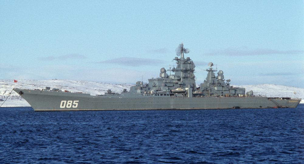 俄方要升级核动力巡洋舰?计划换装新型导弹
