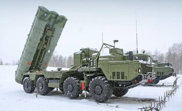 俄媒:S400导弹大获成功 已向中国交付部分装备