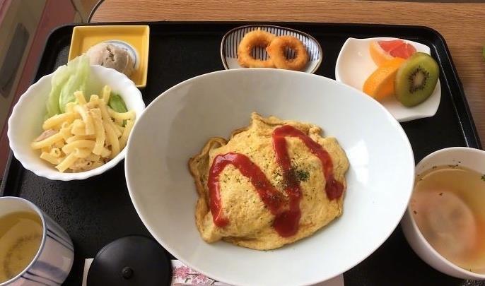 日本产妇分享医院生娃后病号餐