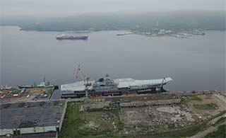 俄唯一航母大修最新进展曝光