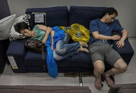 外媒:中国人蹭睡竟让宜家只赚不赔 某部门进账百亿