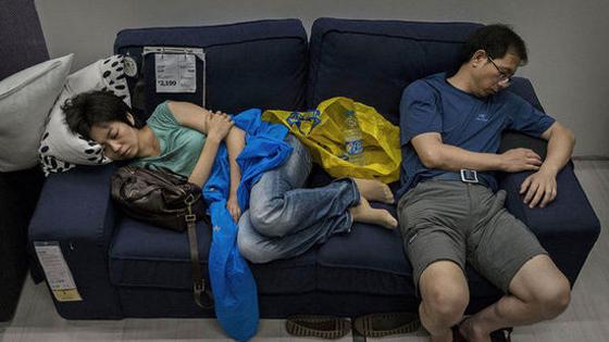 外媒:中国人蹭睡竟让宜家某部门进账百亿!