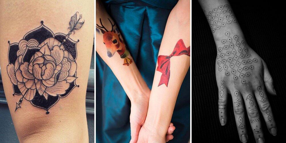足不出户 欣赏全球顶级纹身作品