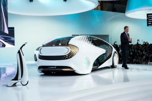 未来汽车什么样?丰田Concept-i就是个开始