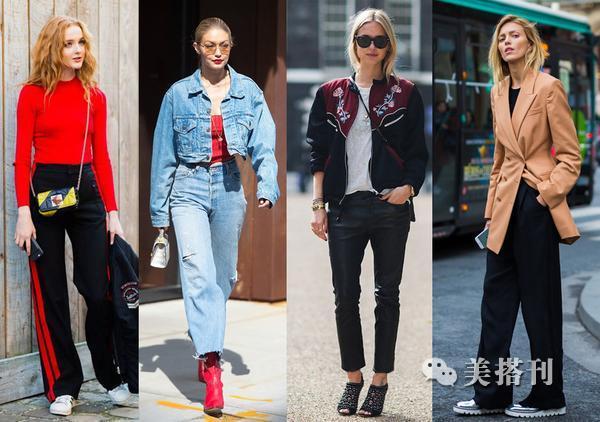 秋冬裤装也疯狂,时髦穿搭就是要放肆浪