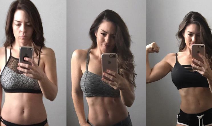 美国女子健身6个月成性感辣妈 生了7个孩子像少女