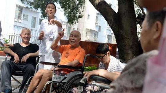 外媒:中国60岁以上老人2035年将达4亿?