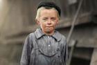 旧照揭西方世界童工生活