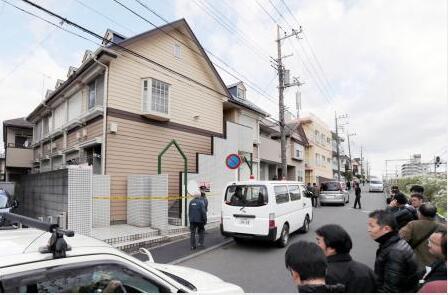 日本神奈川一公寓内发现9具尸体 冷藏柜里藏有2颗头颅