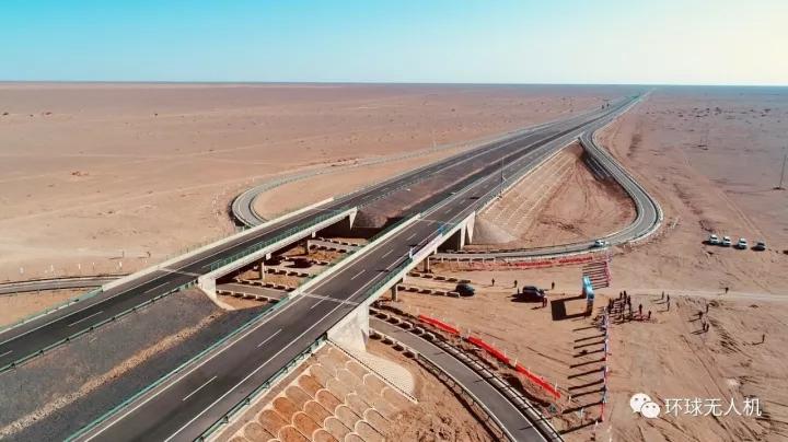 大漠通天途:用无人机记录西北边疆的壮阔风光