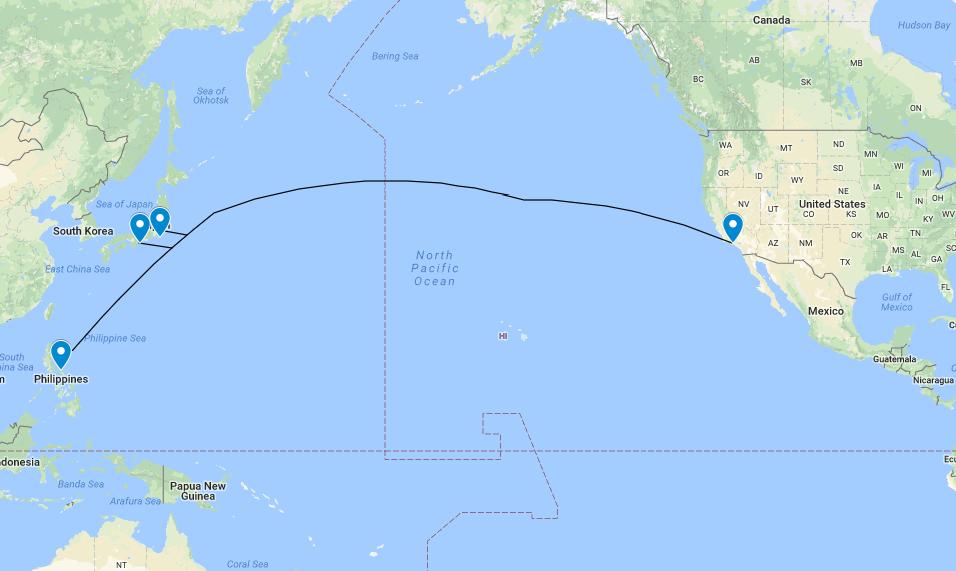 软银FB亚马逊等将建跨太平洋光缆:网速60Tbps