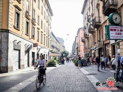 中国侨网米兰中国街 (意大利《新欧洲侨报》)