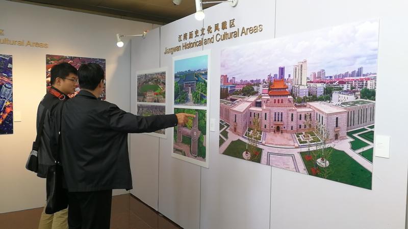 无人机拍上海历史文化风貌区 从这个角度看上海,别有一番风情