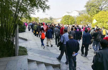 重阳节红色旅游受捧 刘少奇同志故里景区迎高峰