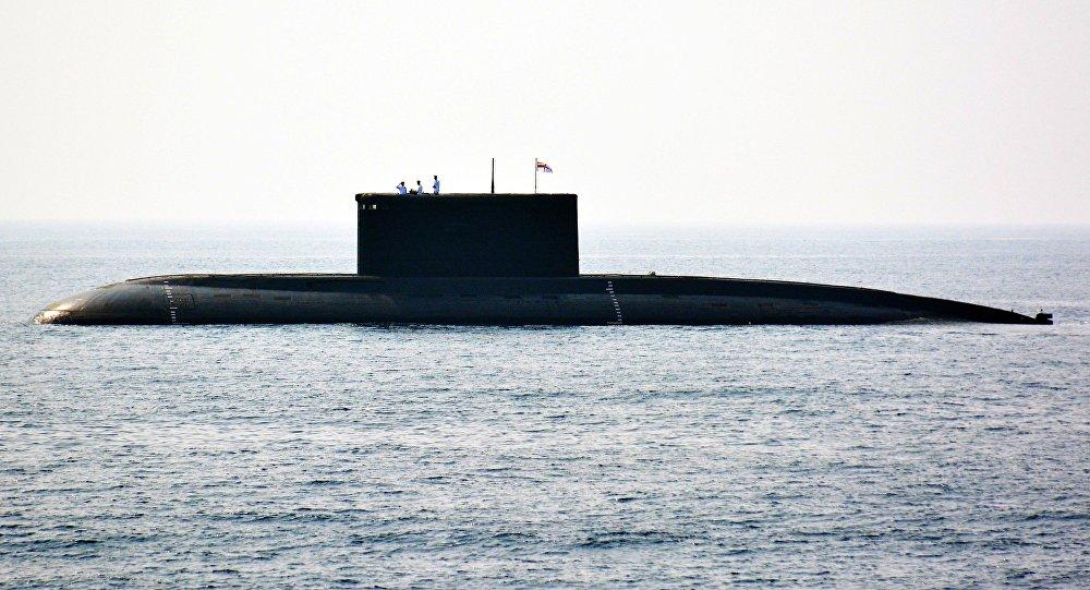 俄媒:印度第二艘国产核潜艇最快今年年底下水