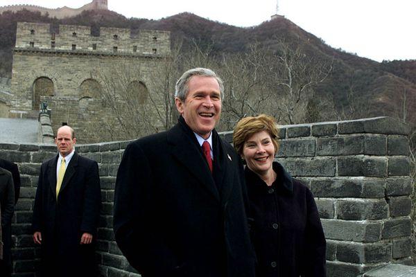 特朗普即将访华 回顾历任美国总统夫妇中国行