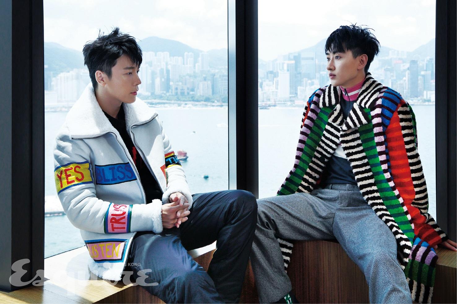 Super Junior-D&E登时尚杂志香港《Esquire》11月刊封面