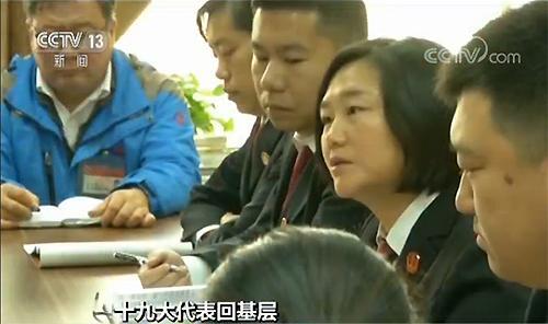 【聚焦十九大·代表回基层】领会报告精神 融入法治工作 共建法治中国