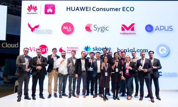 华为携手欧洲合作伙伴共建生态 提升终端用户体验