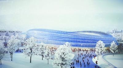 北京冬奥场馆及配套工程全面开工 工程建设环保先行