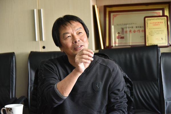 《环球时报》专访著名作家刘震云:我只是幽默的搬运工
