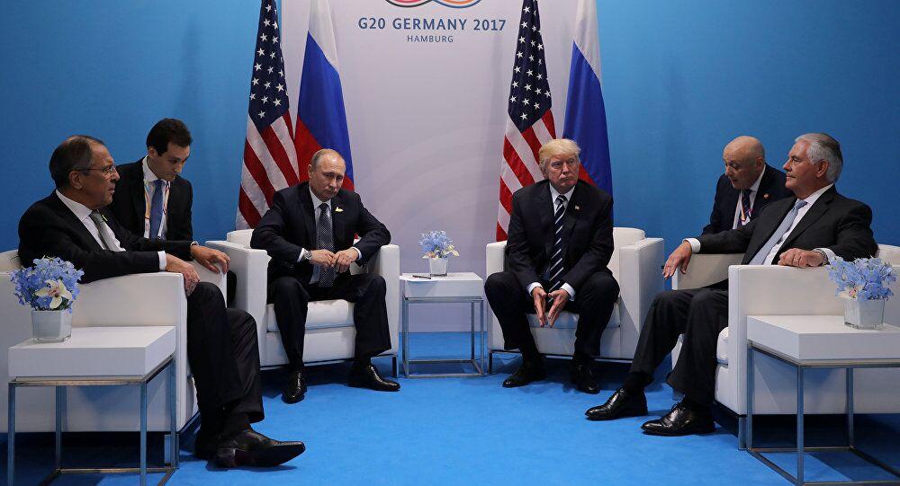 美国尚未决定特朗普是否会在亚洲与普京会晤
