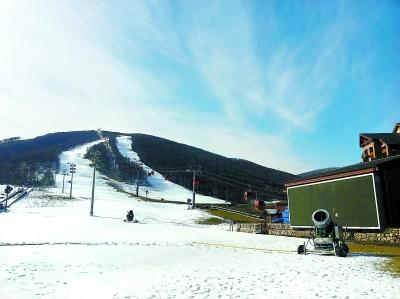 崇礼造雪工作全面展开 今冬滑雪季周末开启