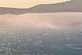 墨西哥小城现美景 晨雾缭绕似童话小城