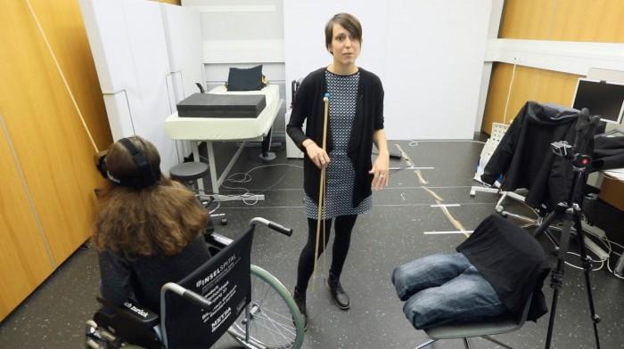 科学家利用虚拟现实来脊椎受伤患者治疗幻痛