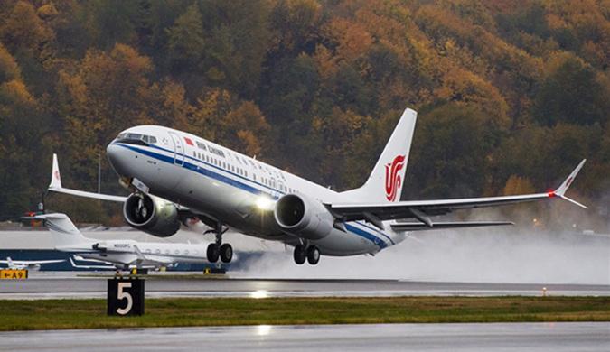 中国首架波音737 MAX交付!乘坐更舒适