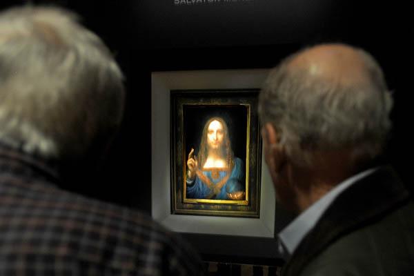 达·芬奇真迹即将拍卖 估价约1亿美元