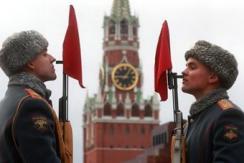 莫斯科红场举行阅兵带妆彩排